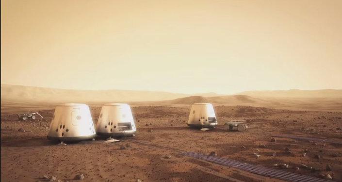 A Mars One colony