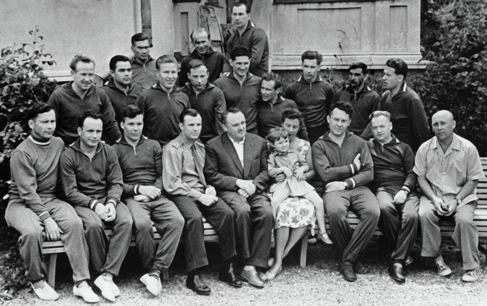 First Soviet cosmonaut squad