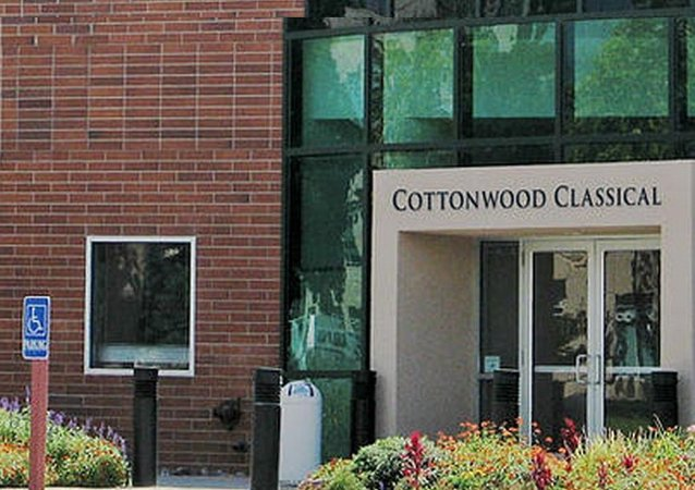 A photo of Cottonwood Classical Preparatory School from the school's site
