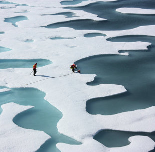 The US Navy has started to deploy underwater drones beneath the arctic ice both to study the deterioration of the ice sheet due to climate change and to help plan for anticipated increases in traffic as previously frozen waterways open up.