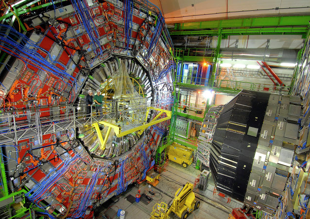 The CERN collider, Switzerland