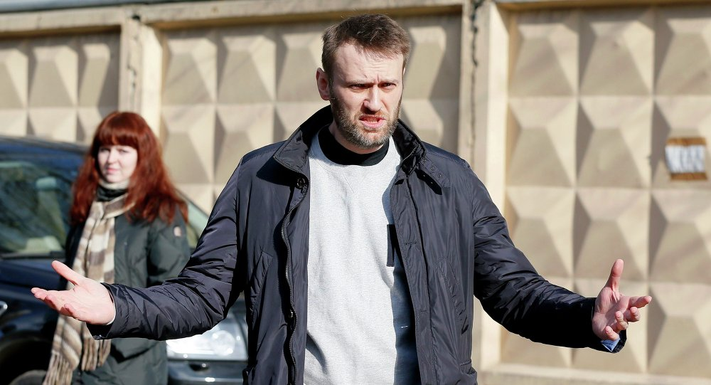 Alexei Navalny, a Russian opposition leader. March 6, 2015