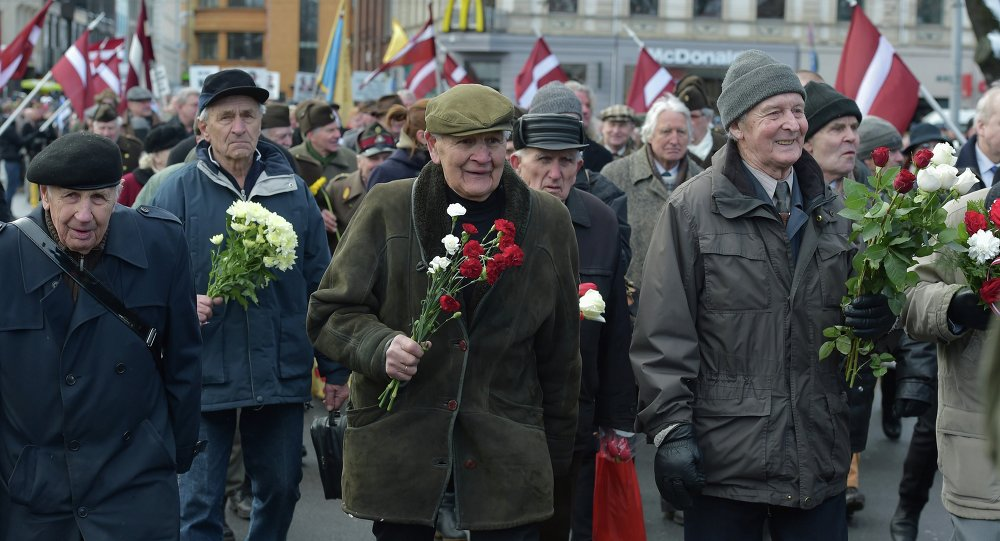 Veterans of the Latvian Legion