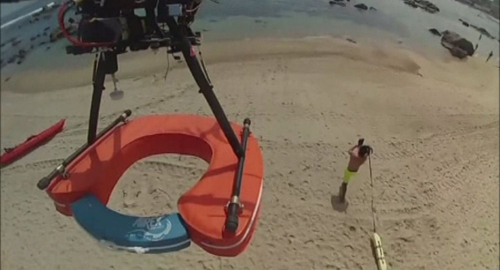 Green Solution is testing a drone on the beaches of Algarrobo that enables lifeguards to start the rescue process before getting in the water.