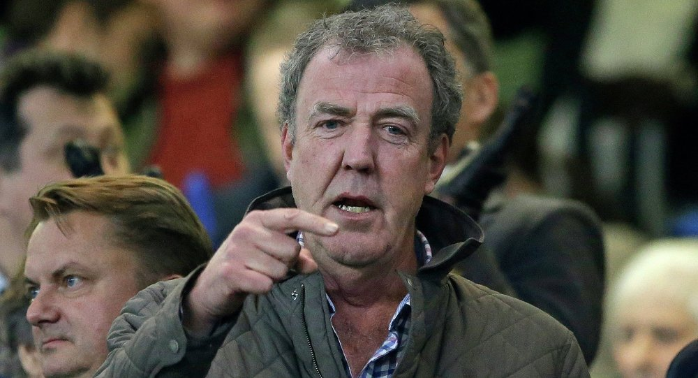 TV host Jeremy Clarkson