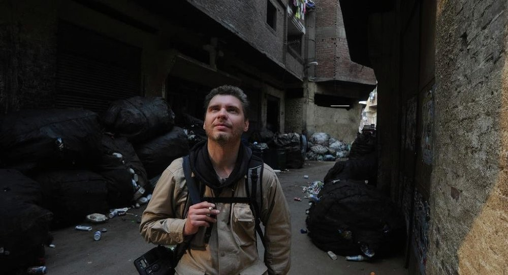 Photojournalist Andrei Stenin