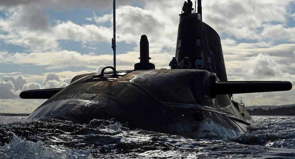 HMS Ambush Arriving at HMNB Clyde