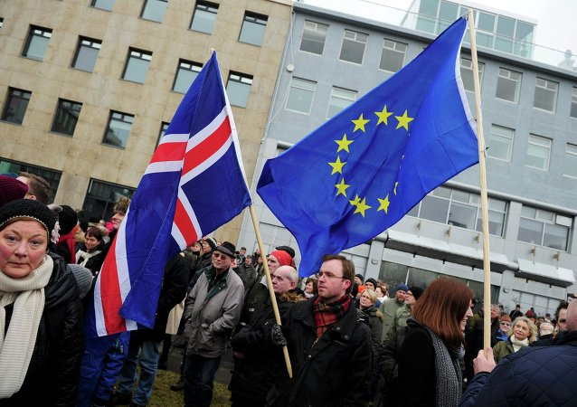 Iceland's foreign minister said last week that his country was no longer interested in pursuing EU membership.