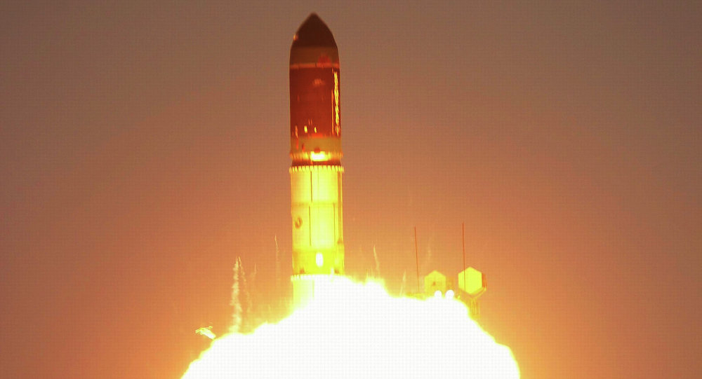 Launch of Dnepr rocket with European satellite CryoSat-2