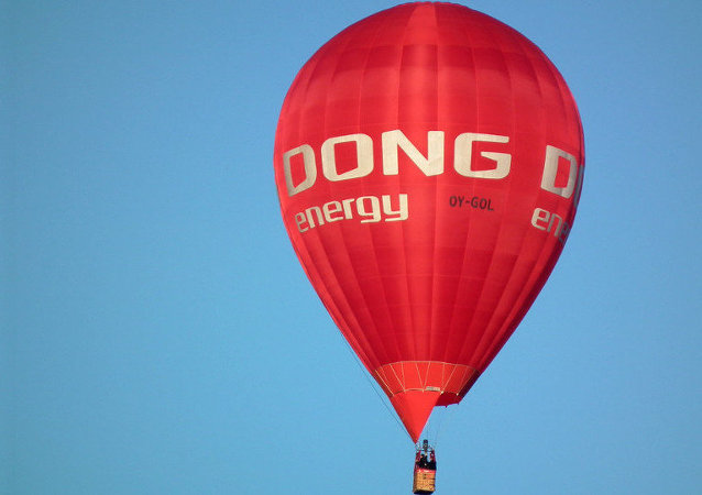 Dong Energy air balloon