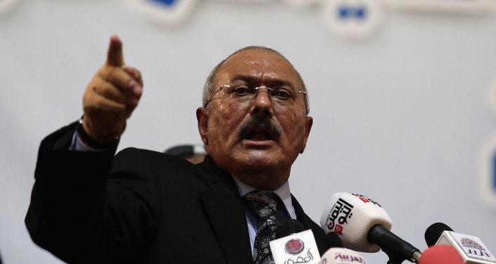 Former Yemen's President Ali Abdullah Saleh