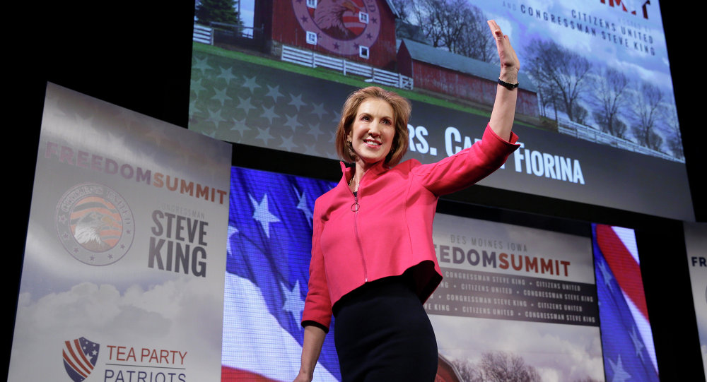 Trump's possible intelligence pick Fiorina calls China 'most important adversary'