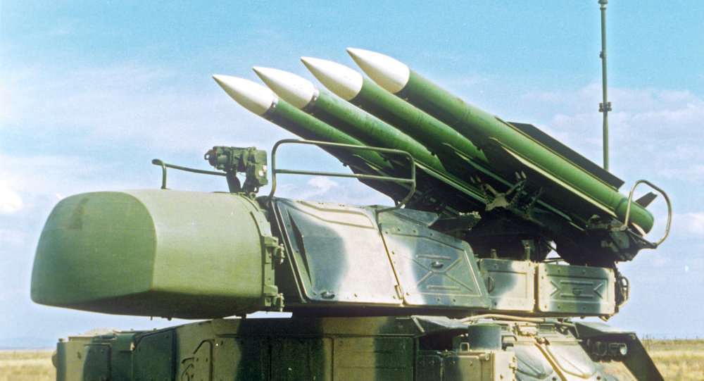 BUK-M1 surface-to-air missile system