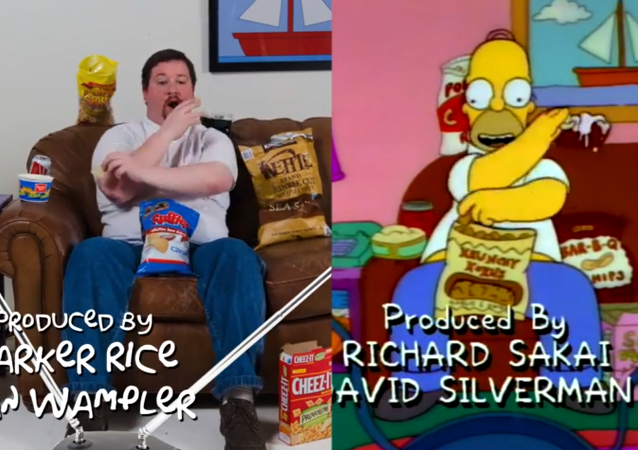How to Be Homer Simpson: Lesson One – Snacking