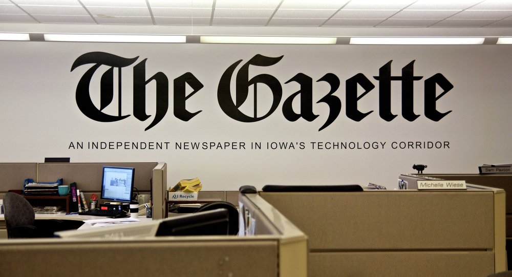 The Gazette Newspaper Cedar Rapids Iowa