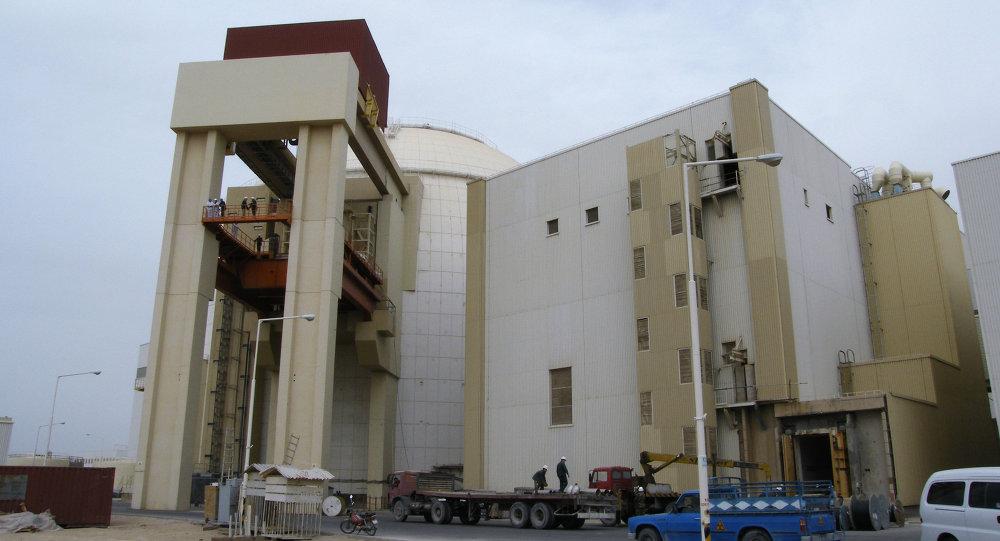 Nuclear power plant in Bushehr (Iran)