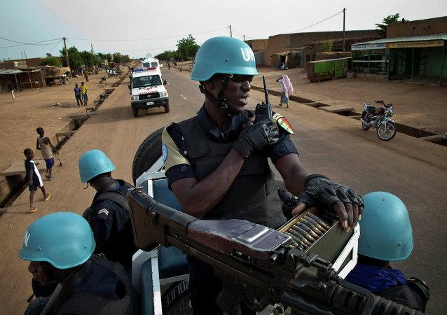 Mali UN peacekeeper police