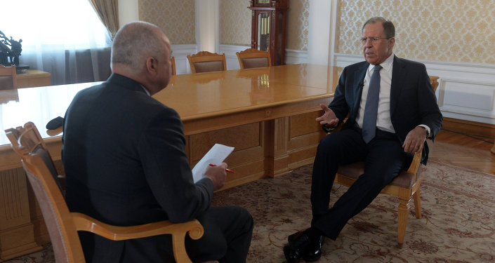 Russian Foreign Minister Sergei Lavrov's interview to Rossiya Segodnya's Director General Dmitry Kiselev
