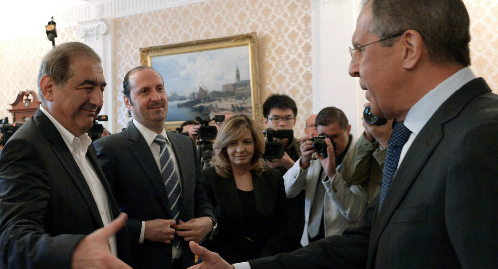 S.Lavrov meets with Syrian Deputy Prime Minister Q.Jamil