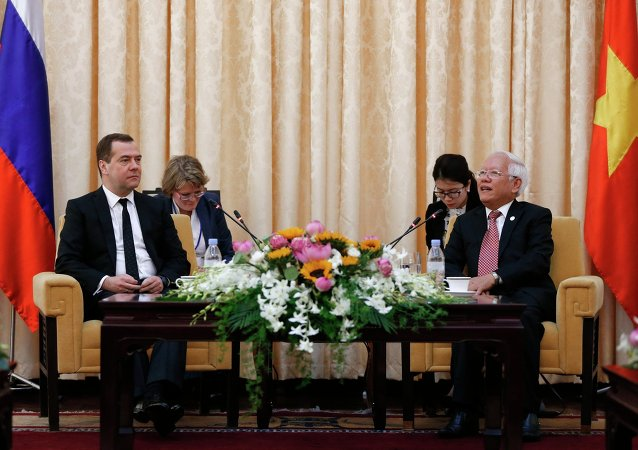 Russian Prime Minister Dmitry Medvedev pays official visit to Vietnam. Day Two