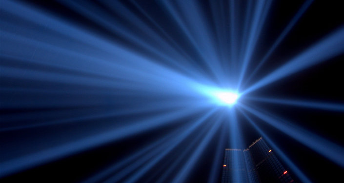 Bakersfield, California, residents have reported saying a blue light in the sky that is out of this world.