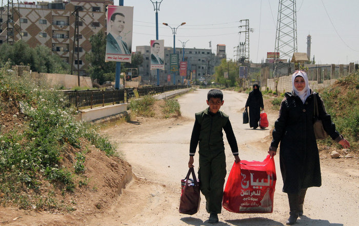 UN Expands Humanitarian Aid Mission to Syrian Yarmouk Refugee Camp