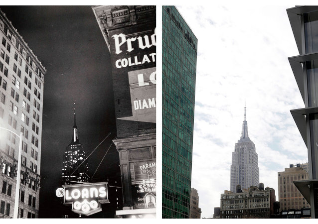New York Through the Ages: Then and Now