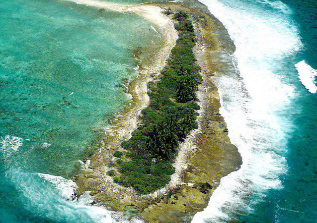 West Island, part of Diego Garcia group