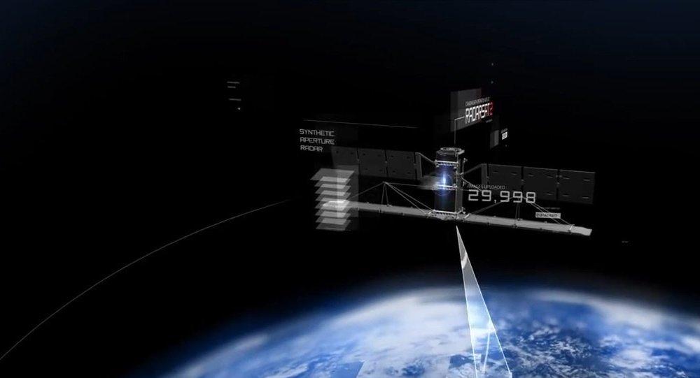 Radarsat-2 satellite