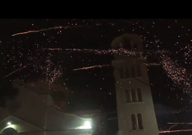 Greece: See ROCKET WAR between two churches celebrating Easter