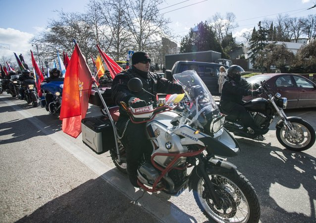 Motor run Our Great Victory starts in Sevastopol