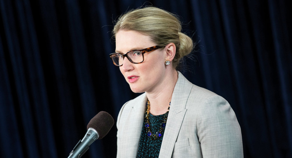 Netanyahu made baffling statements during his speech before the US Congress, US State Department Deputy Spokesperson Marie Harf said.
