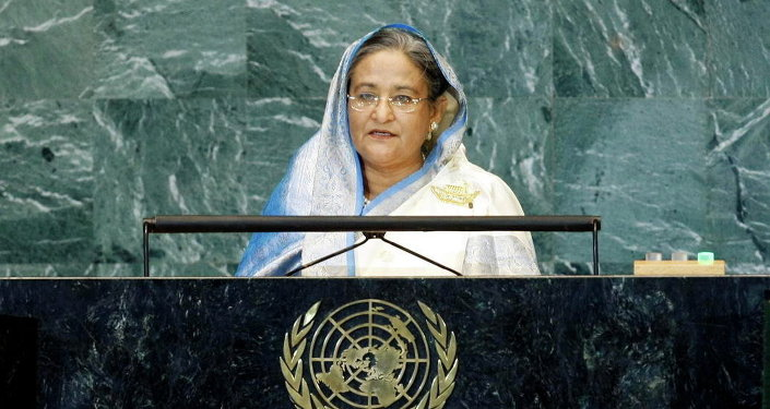 Bangladeshi PM Sheikh Hasina (since Jan 6, 2009) is the daughter of the first president of Bangladesh. As opposition leader, she was the target of an assassination attempt in 2004. In 2007, she was arrested for corruption charges by the caretaker government.
