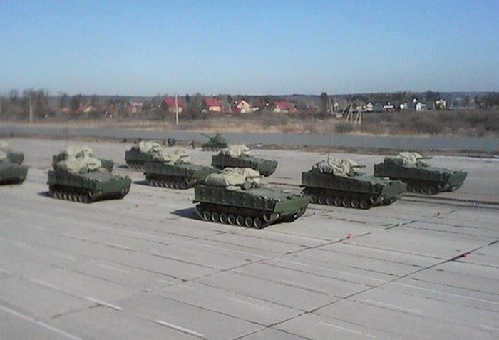 Russian tracked armored vehicle Kurganets-25