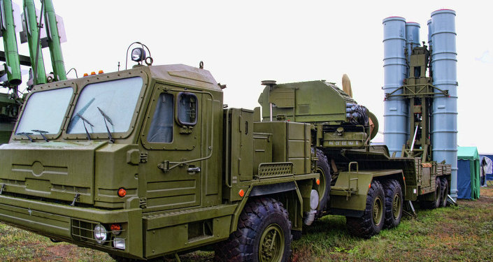 Russian surface-to-air missile system S-300 PMU2 Favorit