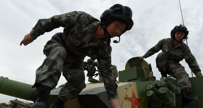 Chinese People's Liberation Army cadets
