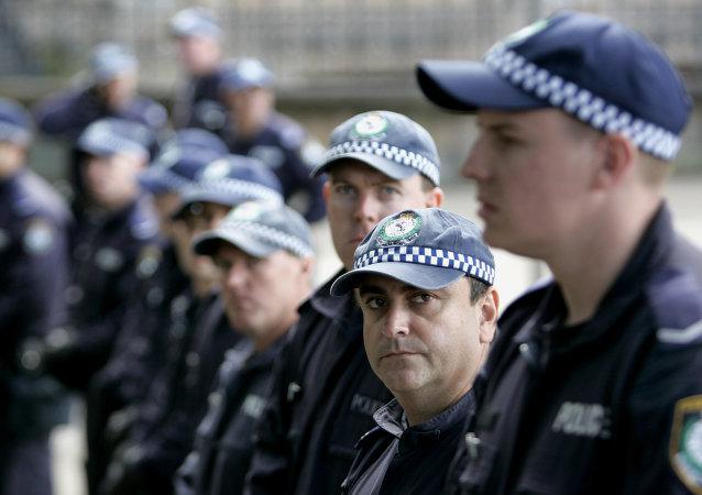 Australian policemen