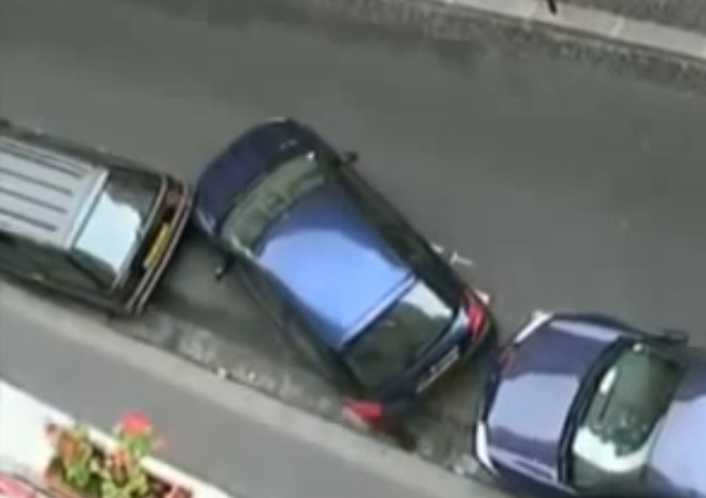 No Space to Park Your Car? Give Nudge to Car in Front of You