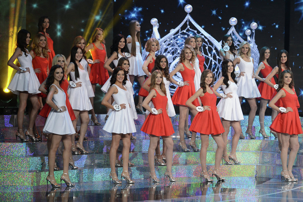 Beauty is Power: Miss Russia Pageant 2015
