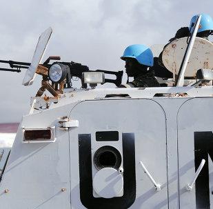 UN peacekeepers in Somalia