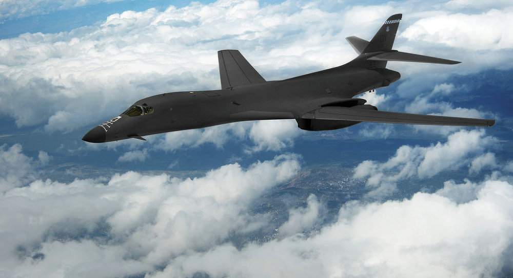 US Nuclear-Capable Bombers Fly Over South Korea to Warn ... B1 Lancer Wallpaper