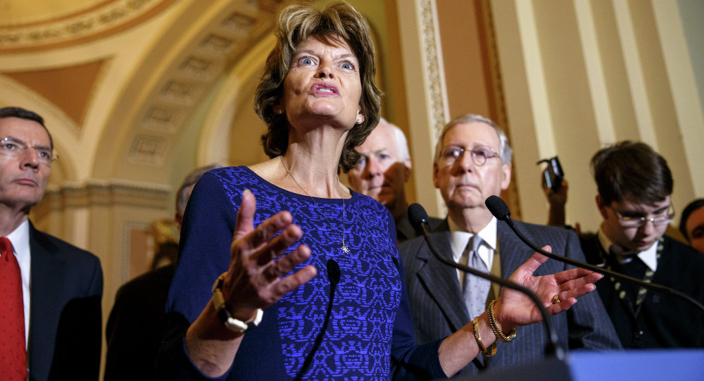Senate Energy and Natural Resources Committee Chair Sen. Lisa Murkowski