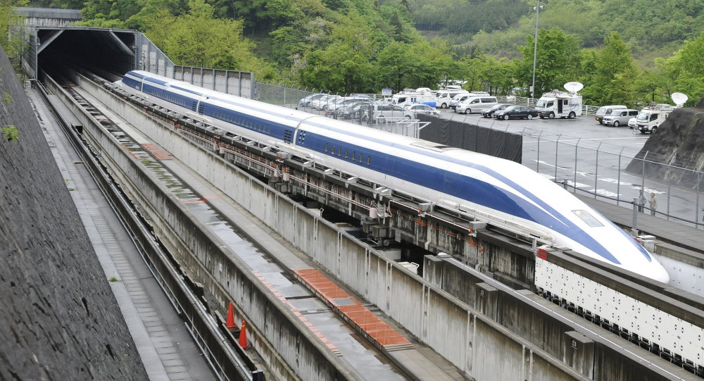 The Maglev train