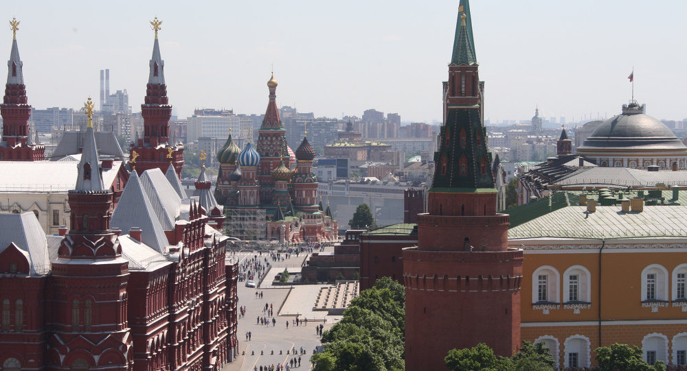 View of State Historical Museum and Red Square
