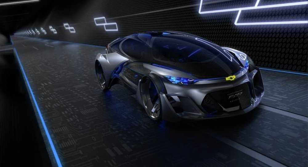 The Chevy FNR self-driving concept car, unveiled this week at the Shanghai auto show, has car fanatics swooning over its sleep design, dragonfly doors and eye-scanning door locks.