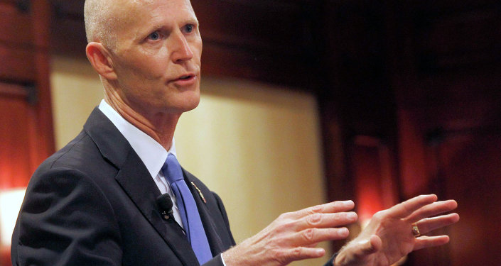 Republican Florida Gov. Rick Scott