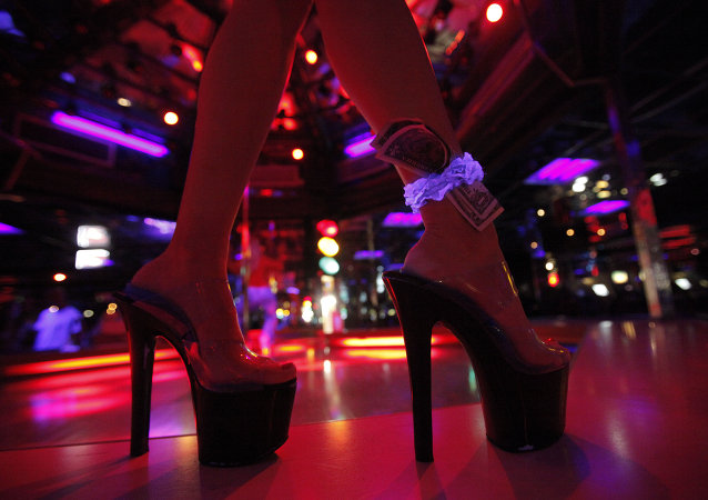 China is cracking down on funeral strippers.