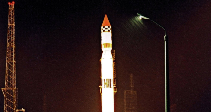 Carrier-rocket Cyclon-3 ready to take off from Plesetsk space center. (File)