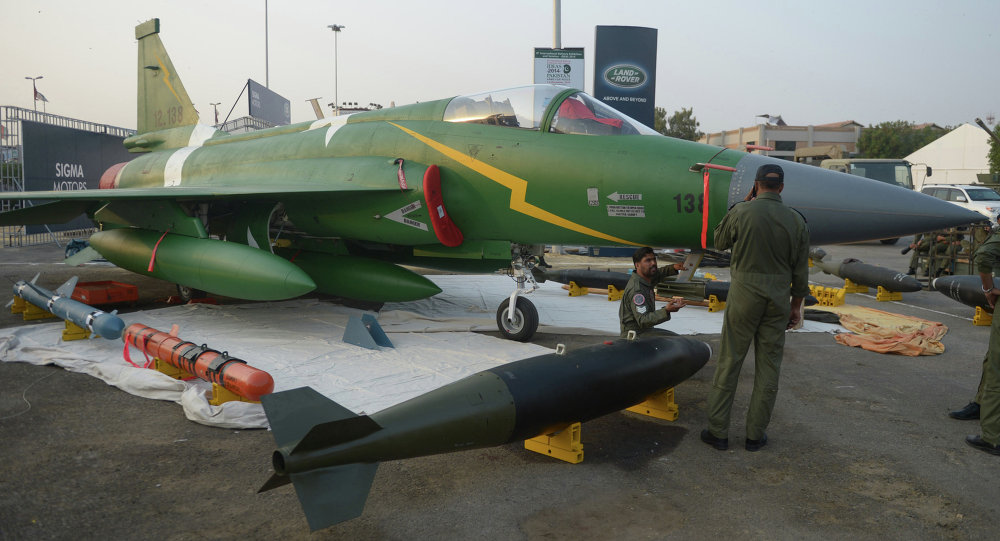 Pakistan Deploys Fighter Jet Squadron to Afghan Border to