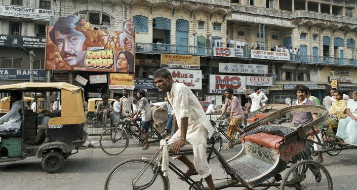 CYCLE RICKSHAW DELHI